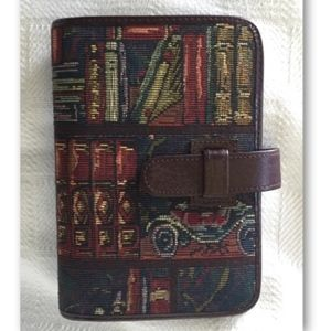 Day Timer Compact Tapestry & Leather Planner